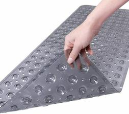 extra long bathtub mat with strong suckers