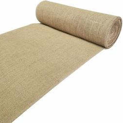 """Extra Long Burlap Table Runner Roll 12"""" Wide x11 Yards Jute"""