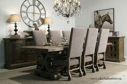 Extra Long Extension Dining Table - Seats 12
