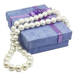 Extra Long Fresh Water Pearl Necklace with Free Bracelet
