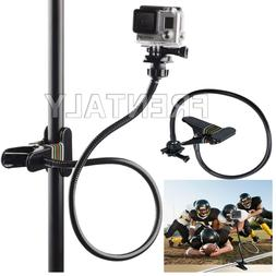 Extra long Jaws Flex Clamp Mount + Adjustable Neck Gopro Her