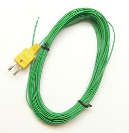 Extra Long 49ft 15m K-Type Thermocouple Wire for Digital The