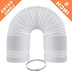 EXTRA LONG Portable Air Conditioner Exhaust Hose - 72 Inch L