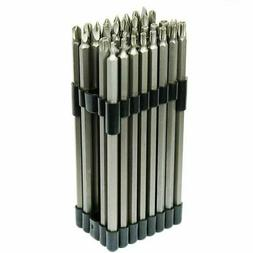 "32PC Extra Long 6"" Security Bit Tamperproof Set Hex Torx Sta"