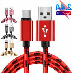 Extra Long USB C Type C Fast Data Charger Cable for Samsung