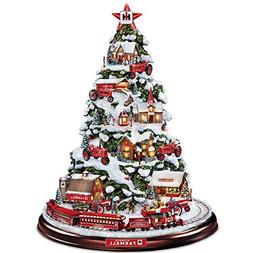 Farmall Heart Of The Holidays Illuminated Tabletop Tree With