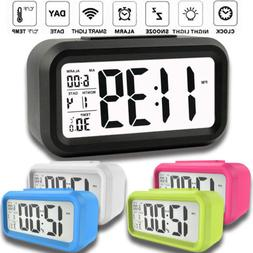 Fashion Digital Alarm Clock Small Portable Desk Morning Trav