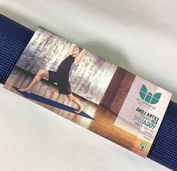 """Warrior by Natural Fitness Yoga Mat, Extra Long, 24"""" x 80"""","""