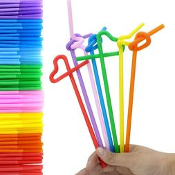 fun colorful extra long flexible bendy party