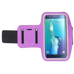 Generic Galaxy S6 Edge+ Plus Case, Sports Armband Gym Arm Ba