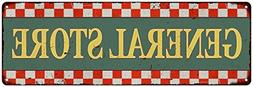 general store checkerboard country vintage