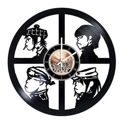 Gorillaz Band Vinyl Record Wall Clock - Living room or Bedro