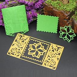 Gotd HOT 3D New Metal Cutting Dies Stencil DIY Scrapbooking
