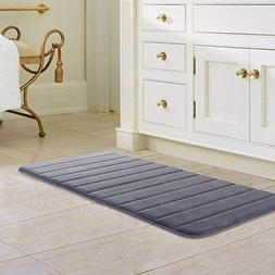 "Drhob 47"" x 24""Long Memory Foam Bath Mat Absorbent Carpet Ru"
