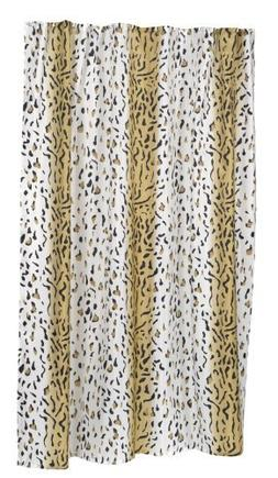 Hailey Polyester Shower Curtain - Size: Extra Long