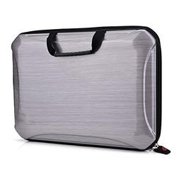Kroo Hard Shell Case with Handle for Laptops up to 11.6""