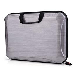 Kroo Hard Shell Case with Handle for Laptops up to 13.3""