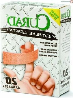 CURAD Heavy Duty Bandage Extra Long 20 Each .75 x 4.75