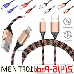 Heavy Duty EXTRA Long 10FT/3M Lightning USB Charger Cable Co