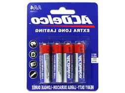 Heavy Duty Extra Long Lasting AA4 1.5 VOLT BATTERIES Electro