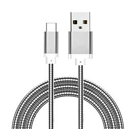 Helix Armor Plated USB Type C Charge and Data Cable 3 FT