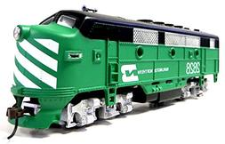 HO Scale Model Railroad Locomotive Burlington Northern F-2