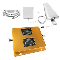 SANQINO Cell Phone Signal Booster for Home, Dual Band 850Mhz