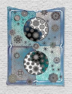 Ambesonne Home Decor Collection, Mandala Patterns with Ethni