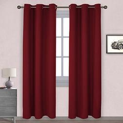 NICETOWN Home Decorations Thermal Insulated Solid Grommet To