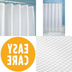 Home Modern Extra-Long 96 Inch Fabric Shower Curtain Liner I