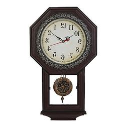 Giftgarden Vintage Wall Clock with Pendulum
