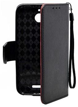 HTC Desire 510 Case - eForCity Dual Layer Hybrid Rubberized