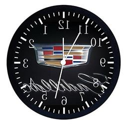 """Huge X-large Size 14"""" Cadillac Wall Clock Nice Gift and Room"""