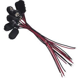 Pangda I Type Long Cable Connection Hard Shell Black Red 9 V