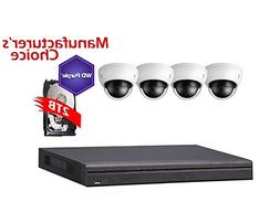 icare 8 Channel Package: NVR4108 W/2TB WD Purple HDD, 4POE +