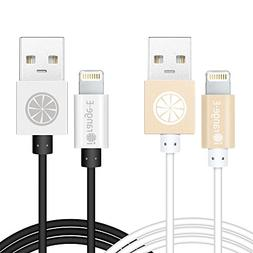 iPhone 6 Cable, iOrange-E 2 Pack Apple Certified 6 Ft Lightn