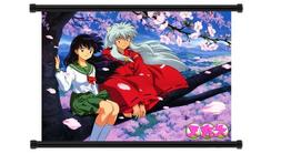 Inuyasha Anime Fabric Wall Scroll Poster  Inches