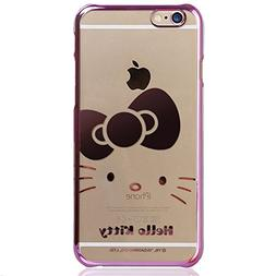 IPhone 6 Case,Hello Kitty Cartoon Ultra Thin Slim Fit Cover