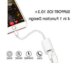 iPhone 7 Adapter Splitter, Charm sonic iPhone 7 Plus Adapter