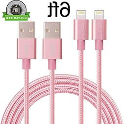 iPhone Cable, MCUK 2 Pack 6ft Lightning Cable Charging Cord