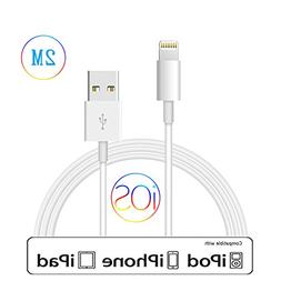 iPhone Charger Lightning Cable Charging Cord 6.6 Feet 2m Ext