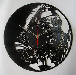Iron Maiden Heavy Metal Vinyl Clock Record Wall Clock Handma