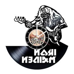 Iron Maiden Vinyl Record Wall Clock - Get unique Living Room