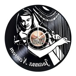Joanna Newsom Vinyl Record Wall Clock - Get unique Living Ro