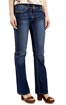 WallFlower Juniors Luscious Curvy Basic Bootcut Jeans in Add