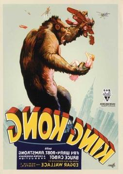 King Kong Movie Poster   Style D - by MG Poster