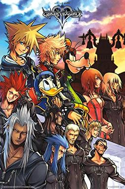 Trends International Kingdom Hearts Group Wall Poster 22.375
