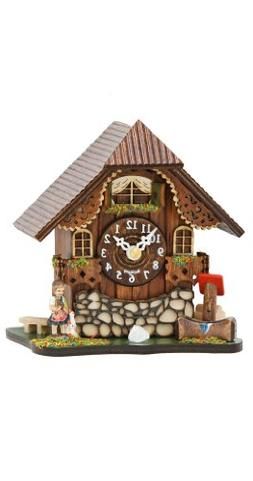 Kuckulino Black Forest Table Clock Black Forest House with q