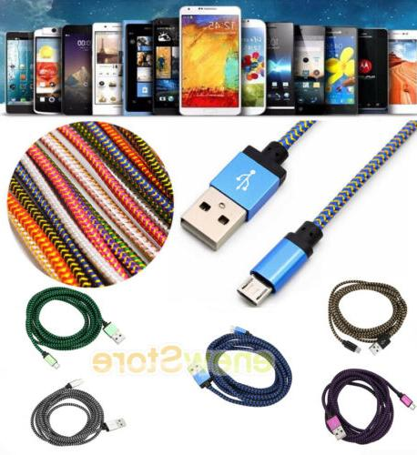 1-3M Data Sync Charger Cable USB Phone