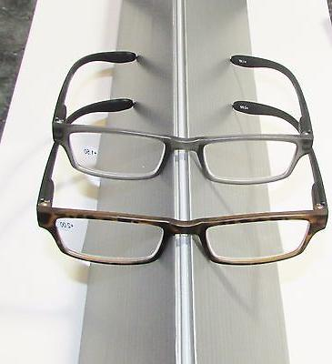 1 Extra temples READING GLASSES Spring frames Black or select power